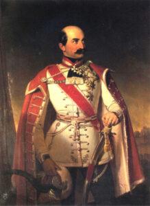 Portret bana Josipa Jelačića, naslikao Ivan Zasche (1826. -1863.)
